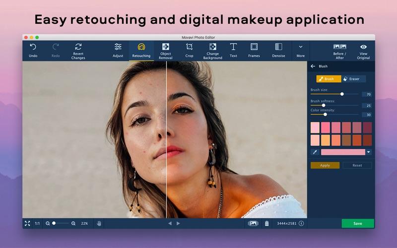 Photo Editor Movavi Screenshots