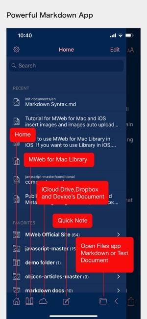 MWeb - Powerful Markdown App on the App Store