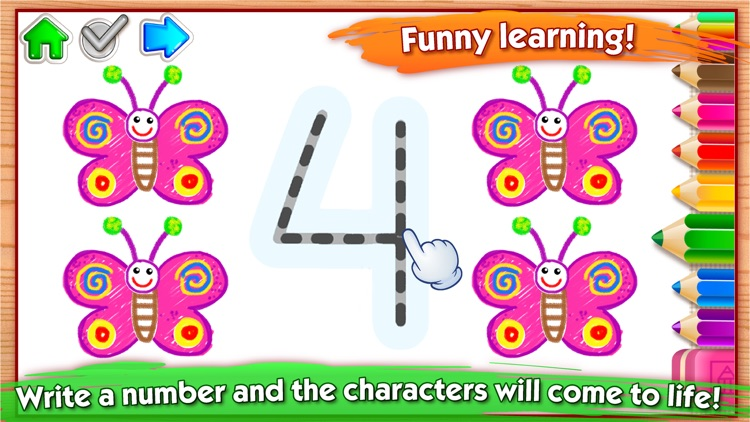 Learn Drawing Numbers for Kids screenshot-3