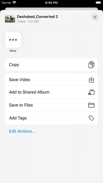 Video Deshake - Stabilizer screenshot-3