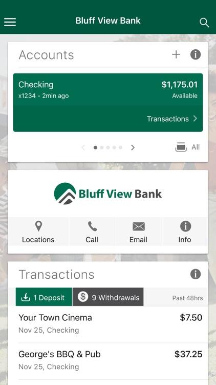 Bluff View Bank