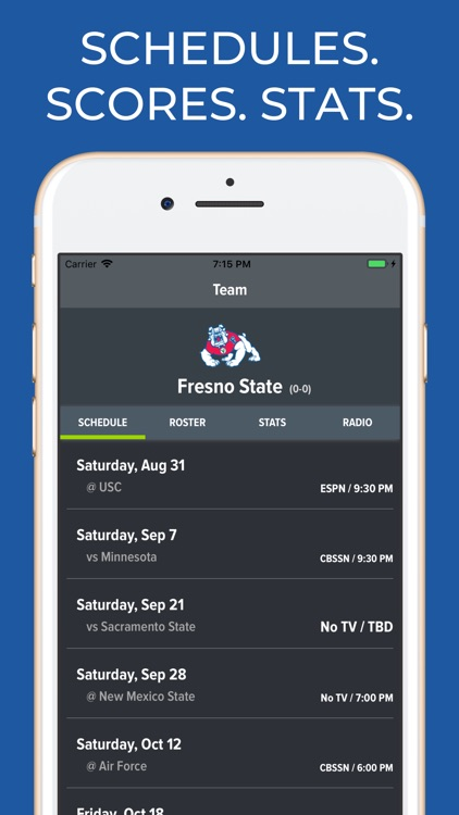 Fresno State Football App screenshot-0