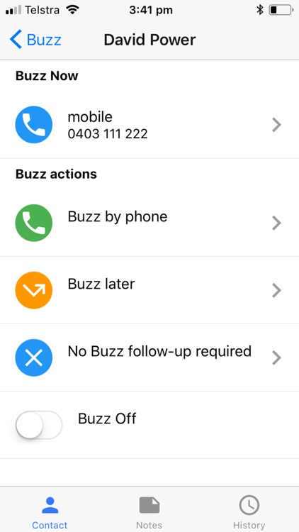 Buzz - It's your call