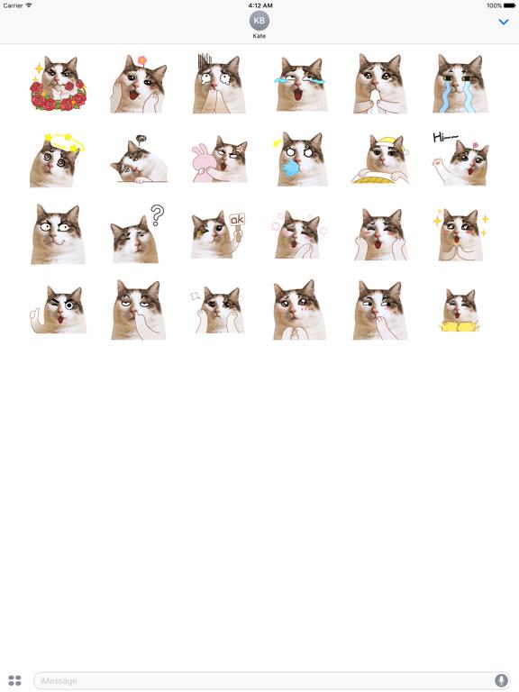 CatMoji Animated Humorous Cat screenshot 5