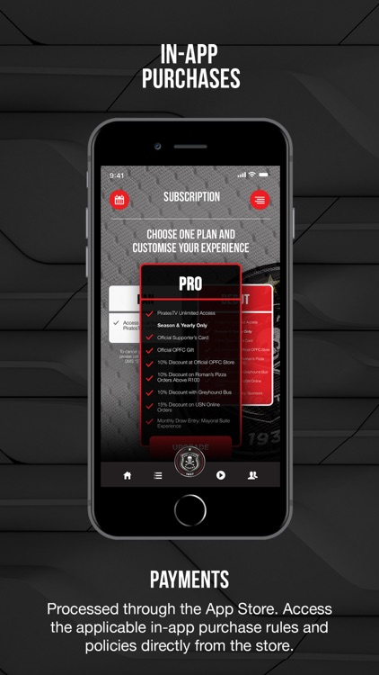 Orlando Pirates Official App screenshot-6