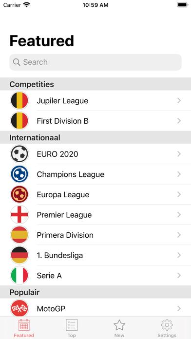 Jupiler Pro League Wedstrijdenのおすすめ画像4