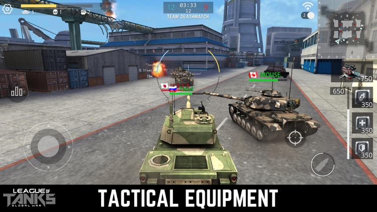 League of Tanks screenshot-3