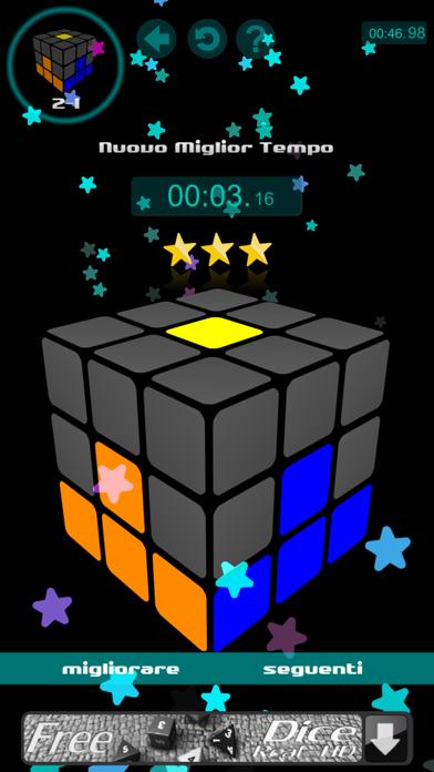 Screenshot of Risolvere il cubo5
