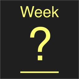 Week Number #