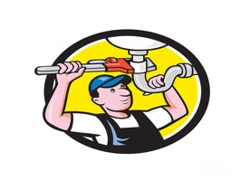 The PlumberST is a small sticker, which are show the 50 Plumber sticker in cartoon