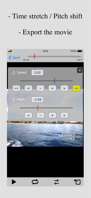 Nu-Movie Player ~ Export video on the App Store