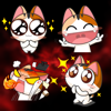 Cat Cute Expression Stickers