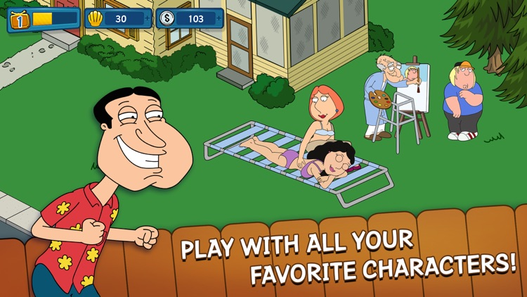 Family Guy The Quest for Stuff screenshot-4