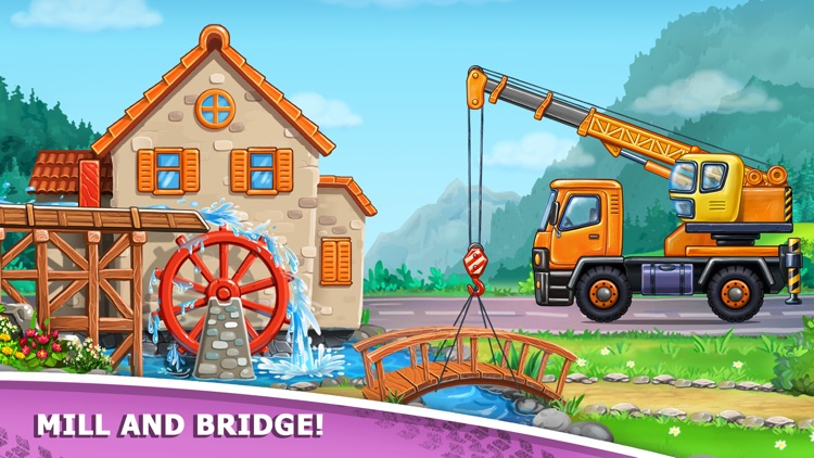 Build a House for Tractor Game screenshot-5