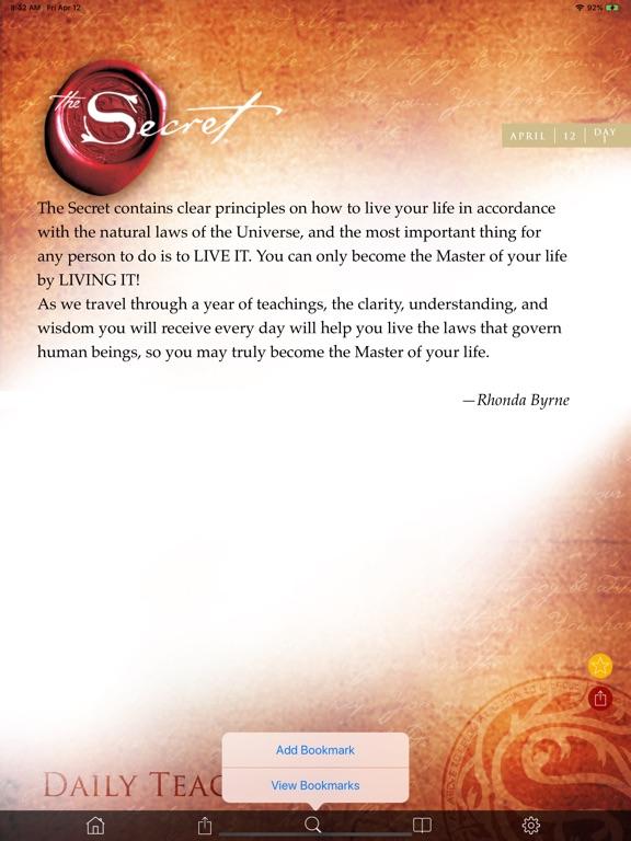 The Secret Daily Teachings screenshot 10