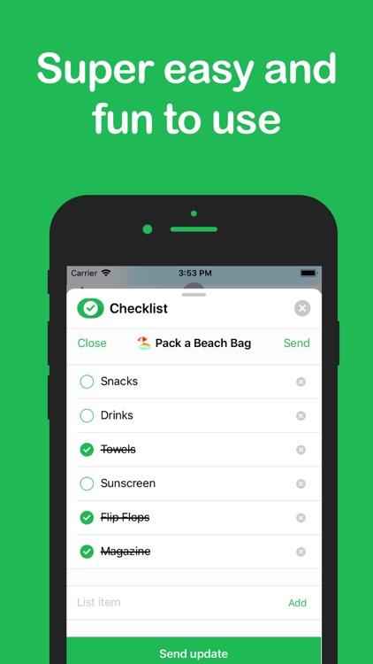 Checklist - Todo - Tasks screenshot-3