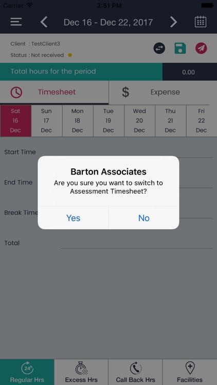 Barton Timesheets screenshot-3