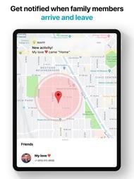 iMapp - Find my Phone, Friends ipad images