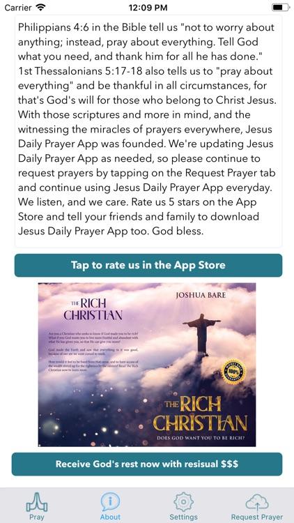 Jesus Daily Prayer App screenshot-3