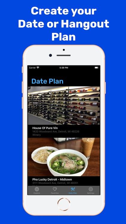 DateNite: Unique Date Planner screenshot-3