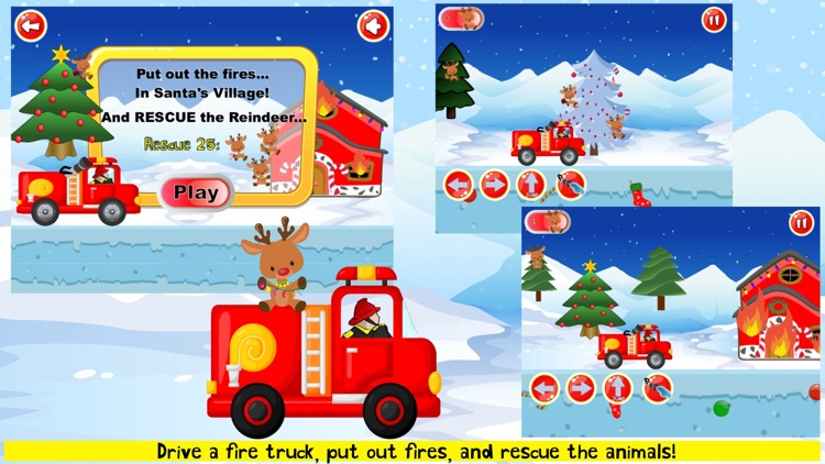 Fireman Game Fire-Truck Games screenshot-0