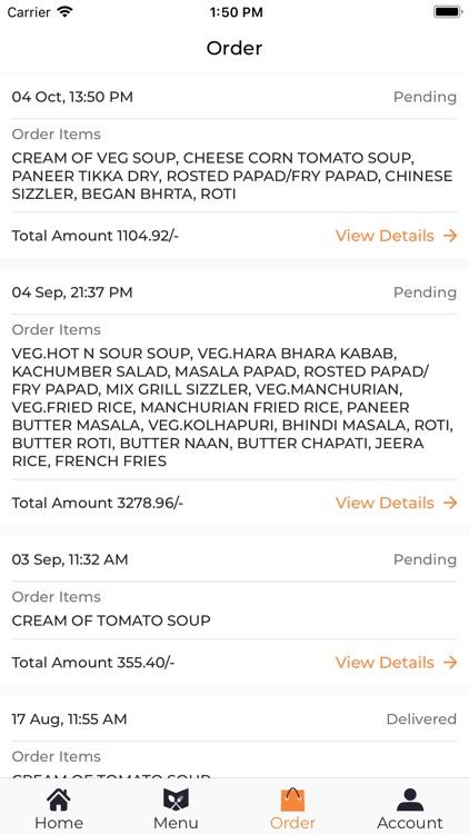 Hotel Flora - Food Delivery screenshot-5