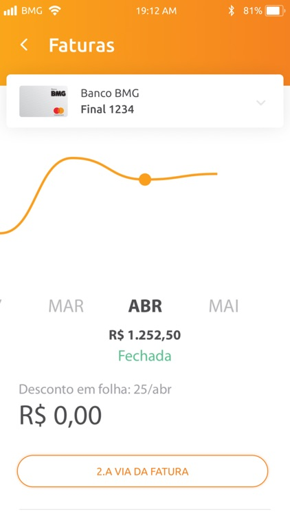Cartões BMG screenshot-3