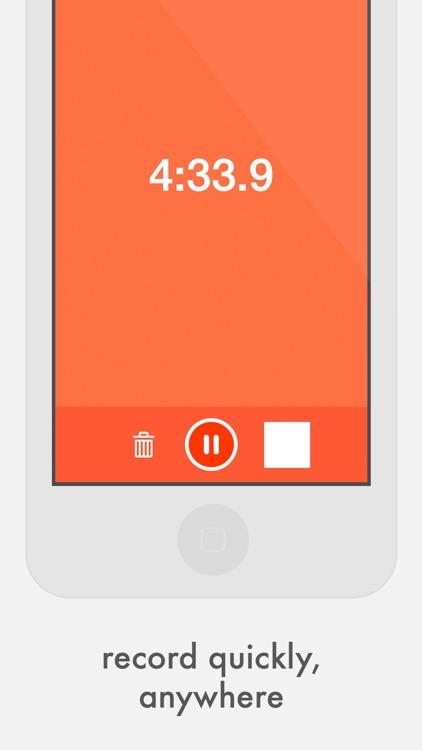 Quick Record Audio Recorder screenshot-0