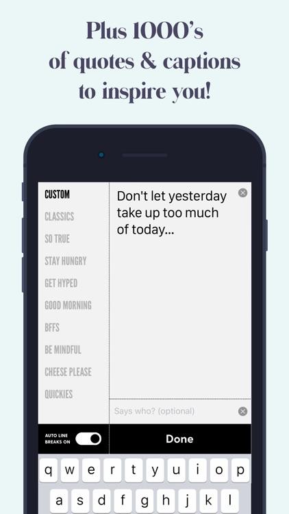 Word Swag - Cool Fonts screenshot-6