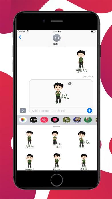 Gujju Boy Stickers screenshot 3