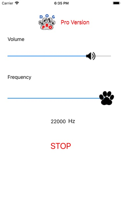 Ultrasonic Dog Whistle Pro screenshot-3