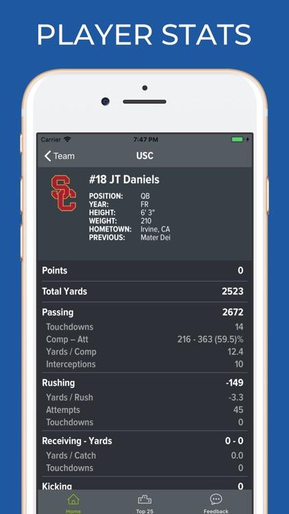 USC Football Schedules screenshot-3