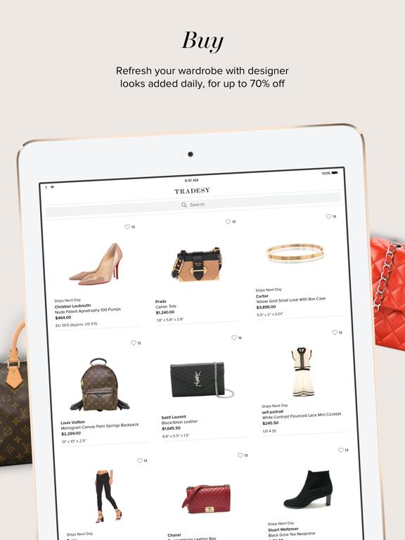 Tradesy: Buy and Sell Designer Fashion screenshot