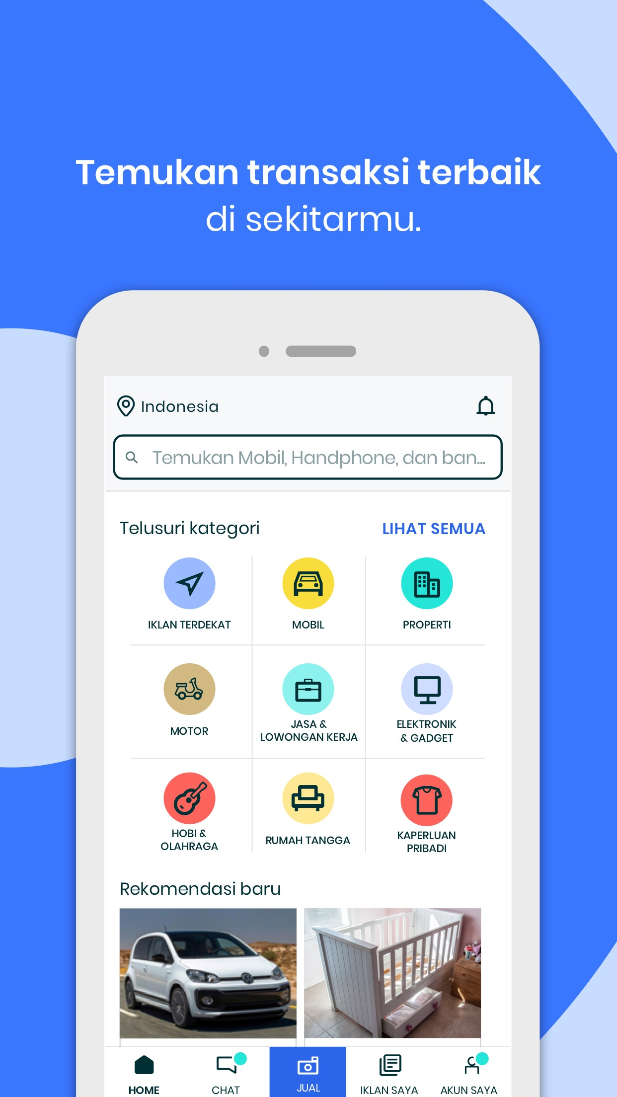 OLX Indonesia Screenshot