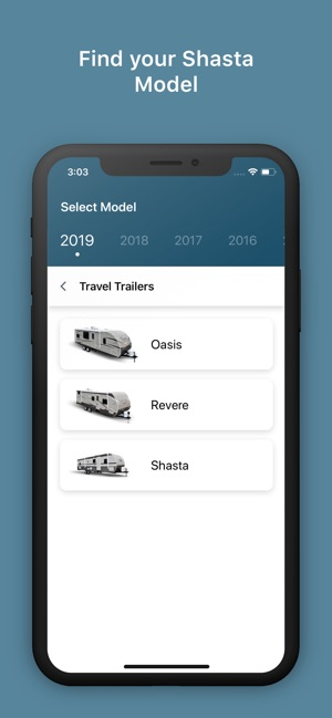 Shasta RV Owner's Guide on the App Store