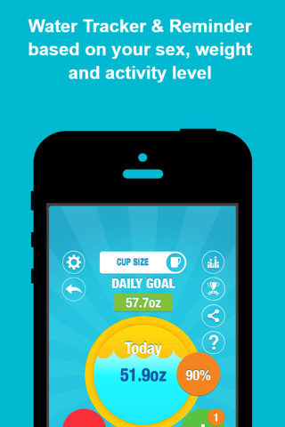 AQUALERT: Water Tracker Daily - náhled