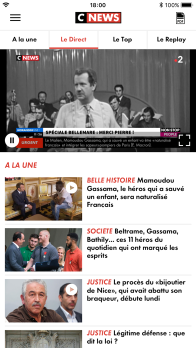 CNEWS info Tv France et Mondeのおすすめ画像2
