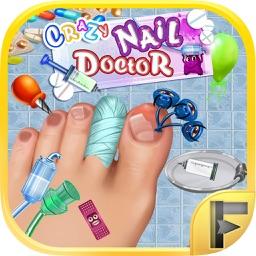 Crazy Toe Nail Doctor Surgery