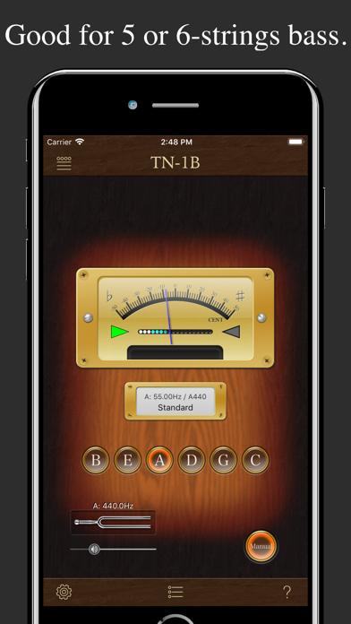 Bass Tuner TN-1B screenshot three