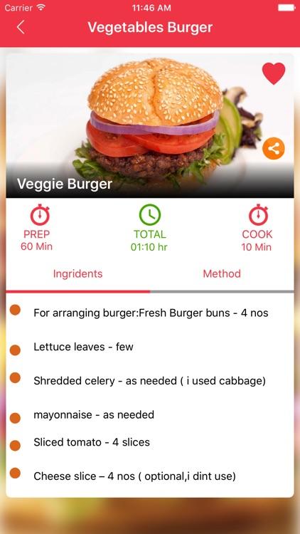 Burger Recipes screenshot-4