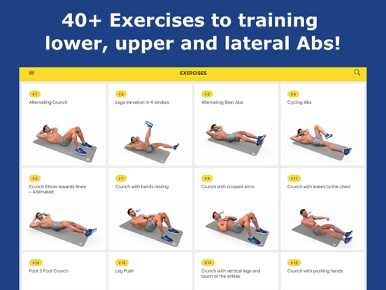 Abs Workout - Daily Fitness iPad app afbeelding 5