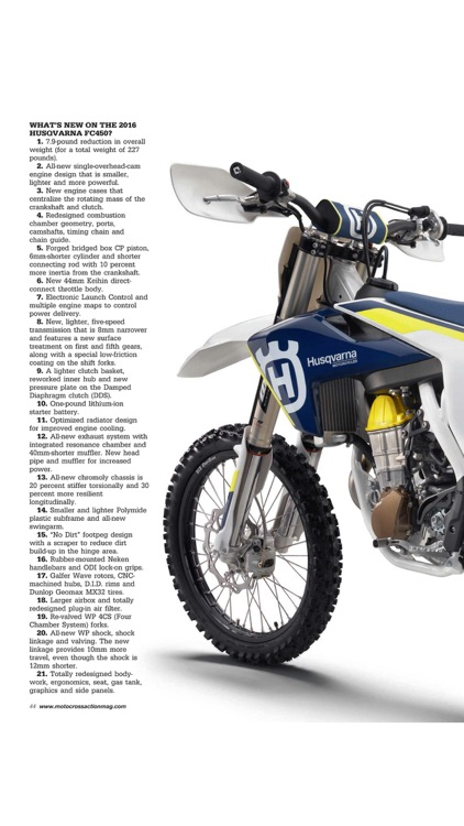 Motocross Action Magazine screenshot-4