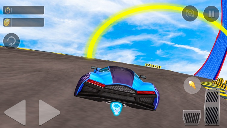 Superhero GT Racing Car Stunts screenshot-3