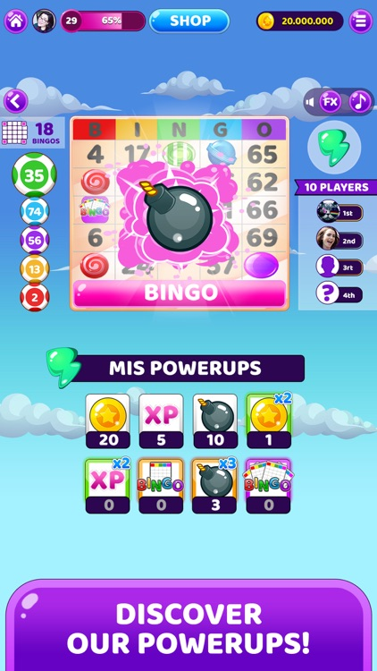 My Bingo! BINGO games online screenshot-3