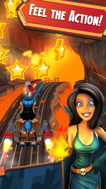 Hugo Troll Race 2: Rail Rush screenshot-3