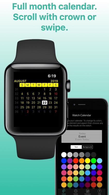Watch Calendar screenshot-0