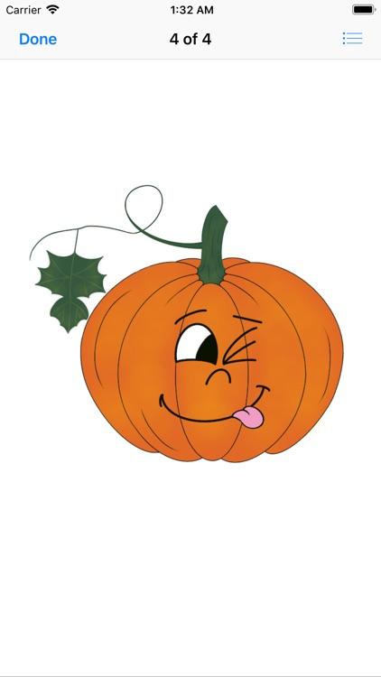 Pumpkin time stickers screenshot-5