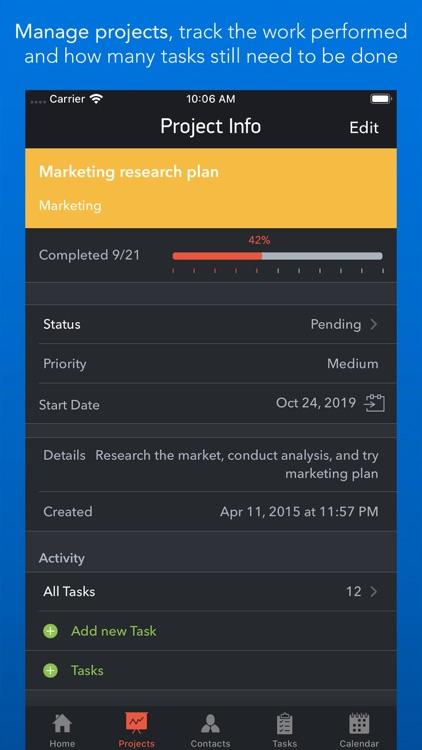 Task Office: to-do, calendar screenshot-3