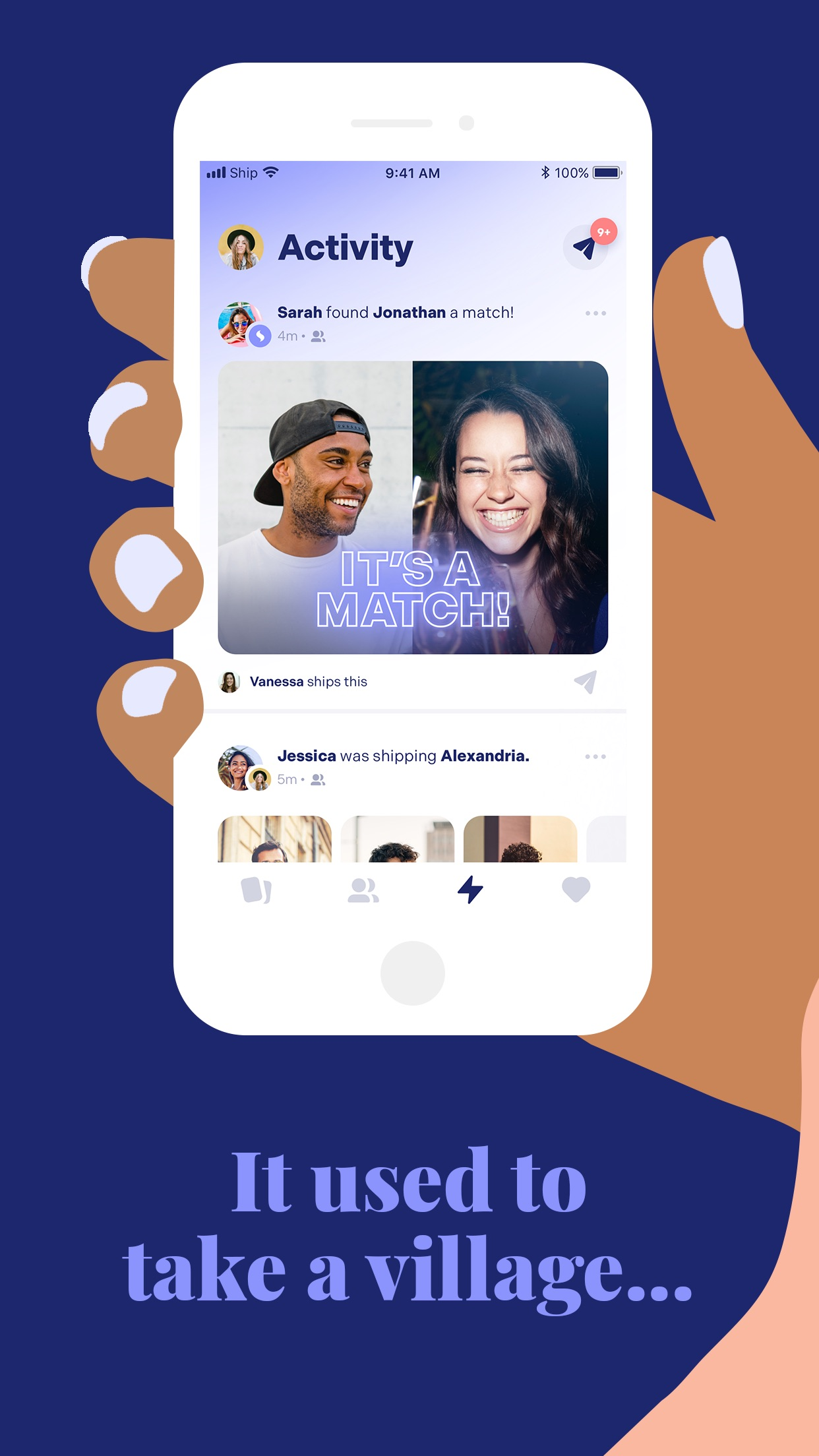 Ship: Dating & Matchmaking App Screenshot