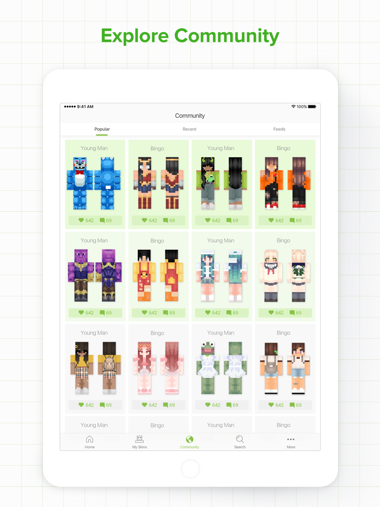 Skinseed Pro for Minecraft App for iPhone - Free Download ...